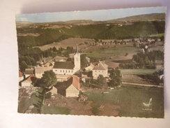 CPSM 25 DOUBS - FOURNET BLANCHEROCHE VUE AÉRIENNE - France