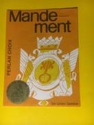2926 - Suisse Genève Mandement Perlan - Etiquettes