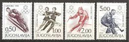 Jugoslawien 1968 // Michel 1262/1265 ** - Unused Stamps