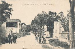 30 // BELLEGARDE   Avenue De La Gare   ANIMEE Edit Paul Salomont - Bellegarde