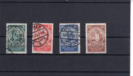 Deutsches Reich 1924 Nothilfe Satz 351-4  Gestempelt  (  N  5895  ) - Gebraucht