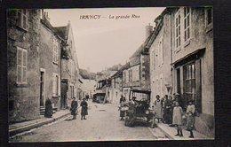 89 Irancy / La Grande Rue / Reproduction Photo Copie Print ( Fond Neudin ) - France