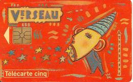CARTE°-FR-PRIVEE-Gn50-GEMA-06/94-HOROSCOPE-VERSEAU-NEUVE- TBE-LUXE - France