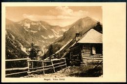 Siebenbürgen Karpathen, Negoi, Valea Sarati, Verlag Sektion Hermannstadt, 1913 - Romania