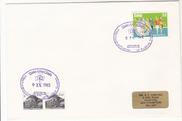 1985 IRELAND COVER BUILDING SOCIETIES CONFERENCE EVENT  Pmk  Stamps Banking Bank Finance - 1949-... Republic Of Ireland