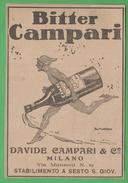 Bitter Campari Sesto S.Giovanni 1922 Adversing Pubblicità - Musica