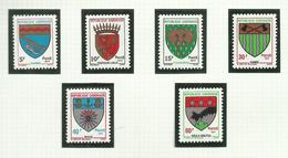Gabon  N°320 à 325 Neufs** Cote 6.20 Euros - Gabon (1960-...)