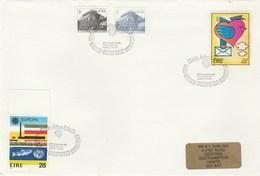 1986  World COMPUTER CONGRESS EVENT COVER Stamps IRELAND  Fish United Nations Etc Un Computing - Computers