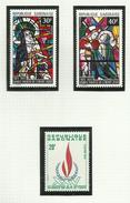 Gabon  N°326 à 328, 335 Neufs** Cote 3.30 Euros - Gabon (1960-...)