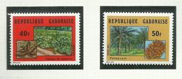 Gabon  N°336 à 341 Neufs** Cote 3.60 Euros - Gabon