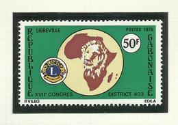 Gabon  N°342, 351, 356 Neufs** Cote 3 Euros - Gabon