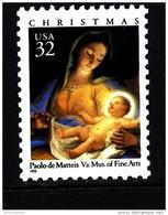UNITED STATES/USA - 1996  CHRISTMAS  MADONNA  MINT NH - Unused Stamps