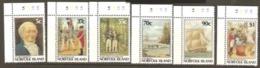 Norfolk Islands 1988 SG 438-43 Philip Gidley King Unmounted Mint - Norfolk Island