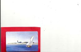 PETIT CALENDRIER TAILLE CARTE DE CREDIT . ANNEE 1999. PHARMACIE GILLE . DOMBLANS . 2 SCANES - Calendriers