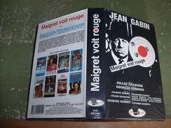"Rare Film : "" Maigret Voit Rouge "" - Crime"