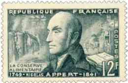 France 1955.. ~ YT 1014* - Nicolas Appert Inventeur - France