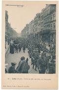 LILLE , Militariat - Défilé Du 43°, Rue Nationale - Lille