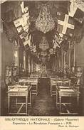 Ref M991- Bibliotheque Nationale -galerie Mazarine -exposition 1928- La Revolution Francaise -carte Bon Etat - - Geschiedenis
