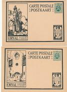 XX 912 - Série Complète De 6 X  Entier Illustré ORVAL Noir NEUF - Etat TB - Enteros Postales