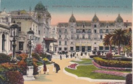 Monaco Monte Carlo Le Casino Et L'Hotel De Paris - Casino