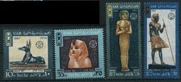 1967 Egitto, Giornata Delle Poste, Serie Completa Nuova (**) - Egipto