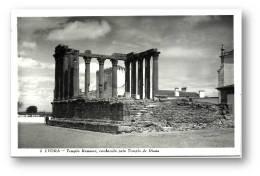 ÉVORA -  Templo Romano, Conhecido Pelo Templo De Diana - Ed. LOTY Nº 5 - Alentejo Portugal - 2 Scans - Evora