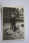 Petit Garçon - Young Little Boy Riding Bicycle  - Vintage Photography 1970s  Old USSR Photo - Photos