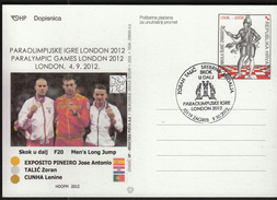Croatia Zagreb 2012 / Paralympic Games London 2012 / Long Jump / Zoran Talic / Silver Medal Winner