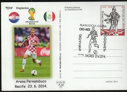 Croatia Zagreb 2014 / Soccer Football / World Championship Brazil 2014 / Ph. Ex. Croatian Football / Croatia - Mexico - Wereldkampioenschap