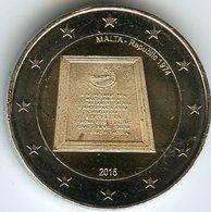 Malte Malta 2 Euro 2015 Constitution UNC - Malte