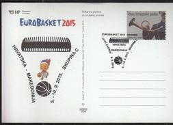Croatia Zagreb 2015 / Basketball / EUROBASKET 2015 / Group C / Croatia - Macedonia - Baloncesto