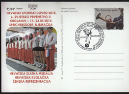 Croatia Zagreb 2015 / Croatian Sports Successes In 2015 / 6th WC Speichersdorf, Bowling / Gold Croatian Women Team
