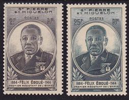 St-Pierre Et Miquelon Série N° 323-324  Neuf * - Voir Recto Et Descriptif - - Unused Stamps