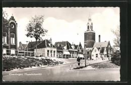 CPA Vlaardingen, Maassluissedijk, Vue Partielle Avec Vue De La Rue - Vlaardingen