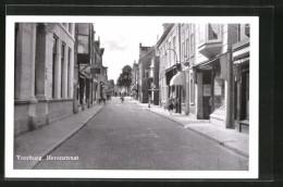 CPA Voorburg, Herenstraat Avec Commercesn - Voorburg
