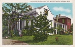 Mississippi Natchez Richmond Home Of The John Marshall Family Cu