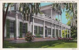 Mississippi Natchez Linden Home of Mr A M Feltus Curteich