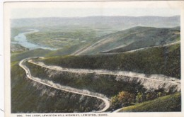 Idaho Lewiston The Loop Lewiston Hill Highway - Lewiston