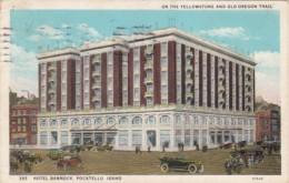 Idaho Pocatello Hotel Banncock 1936 - Pocatello