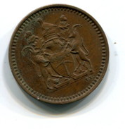 1971 Rhodesia 1/2 Cent Coin - Rhodesien