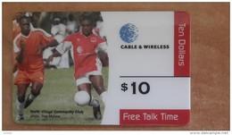 Bermuda-north Villagle Community Club-$10-used Card+1card Prepiad Free - Bermuda