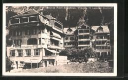 CPA Wengen, Terminus Hotel Silberhorn - BE Berne