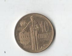 MONACO.ESSAI.10 Cts  RAINIER III.1962. SUP A SPL. - 1960-2001 Franchi Nuovi