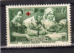Timbre France Neuf Sans Charniere N°459