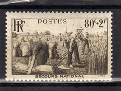 Timbre France Neuf Sans Charniere N°466
