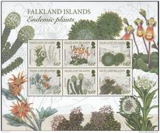 Falkland Islands 2016 Bloc Feuillet Plantes Endémiques Neuf ** - Falkland