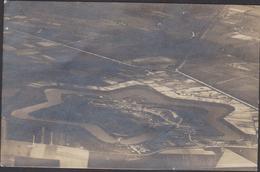 Oude Postkaart Fotokaart Merxem Merksem Fort Van Zicht Uit Een Vliegtuig Genomen Luchtfoto Exposition 1919 ZELDZAAM - Antwerpen