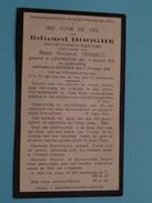 DP Eduard HOOGHE ( Marie Nathalie DEMAILLY / Zoon Van LAGA ) Lendelede 3 Aug 1854 - Iseghem 27 Feb 1929 ( Zie Foto's ) ! - Décès