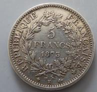 5 Francs Hercule 1873 K - J. 5 Francs