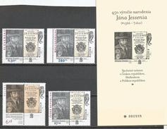 Slovakia 2016. Joint Issue With Hungary Poland Czech Republic With Black Proof Card - Slovakia